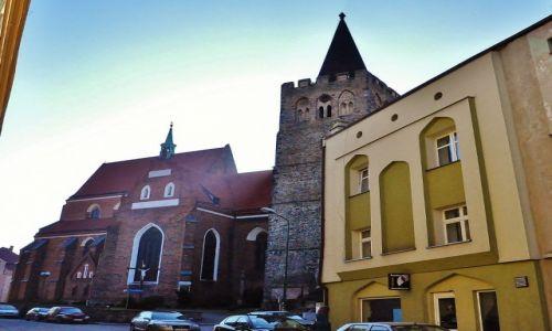 Zdjęcie POLSKA / Dolny Śląsk / Ziębice / Ziębice, bazylika pw. św. Jerzego Męczennika i sanktuarium Męki Pańskiej, z 1270 r.