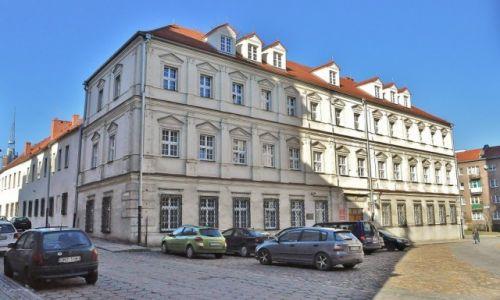 POLSKA / Opolskie / Nysa / Nysa, dawny gmach seminarium