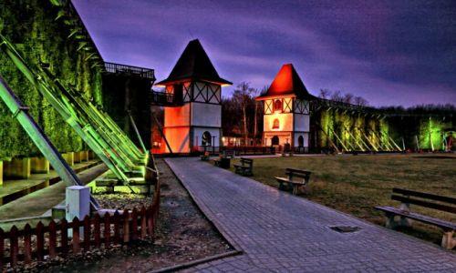Zdjęcie POLSKA / kujawsko-pomorski / Inowrocław /   Inowrocławska tężnia solankowa  nocą!