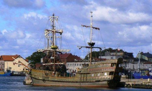 Zdjęcie POLSKA / Pomorze Środkowe / Ustka / W porcie