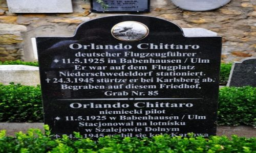 Zdjecie POLSKA / Dolny Śląsk / Szalejów Dolny / Messerschmitt Bf 109