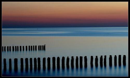 Zdjęcie POLSKA / Ustka / Plaża / : Co Bałtyk, to Bałtyk. Nikt mi nie powie, że gdzieś jest piękniej.
