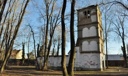 Zdjęcie POLSKA / Dolny Śląsk / Paczków / Paczków, ruiny kościoła z XVII w.