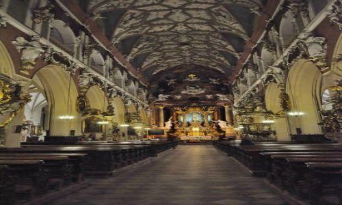 POLSKA / Dolny Śląsk / Kłodzko / Kłodzko,  kościół Wniebowzięcia Najświętszej Marii Panny