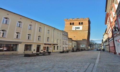 Zdjęcie POLSKA / Dolny Śląsk / Ząbkowice Śląskie / Ząbkowice Śląskie, krzywa wieża