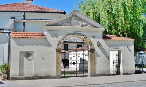 Zdjęcie POLSKA / Małopolska / Kraków / Kraków, synagoga Remuh