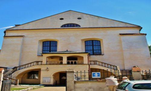 Zdjęcie POLSKA / Małopolska / Kraków / Kraków, synagoga Izaaka