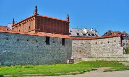 Zdjęcie POLSKA / Małopolska / Kraków / Kraków, mury obronne