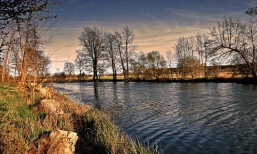Zdjęcie POLSKA /  pow. Żniński / Antoniewo /  Dolina Noteci w promieniach zachodzącego słońca-2