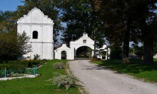 Zdjęcie POLSKA / Centrum / Gidle / Gidle, brama kościoła pokartuzkiego