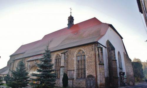 Zdjęcie POLSKA / Dolny Śląsk / Lwówek Śląski / Lwówek Śląski, kościół franciszkanów