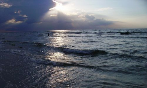 Zdjęcie POLSKA / Bałtyk / Łeba / morze