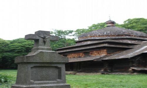 POLSKA / PODKARPACIE  / ULUCZ  / Szlakiem architektury drewnianej