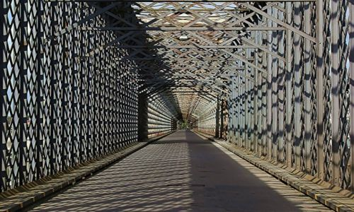 Zdjecie POLSKA / Pomorskie / Most drogowy w Tczewie (Most Lisewski) / Kratownice