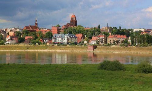 Zdjęcie POLSKA / Pomorskie / Tczew / Dwa brzegi Wisły