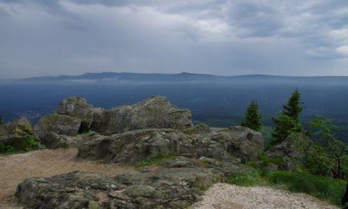 Zdjęcie POLSKA / - / Góry Izerskie / Wysoki Kamień 1058 m n.p.m