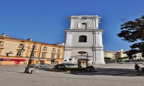 Zdjęcie POLSKA / Podkarpacie / Przemyśl / Przemyśl, wieża zegarowa