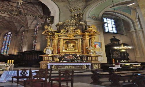 Zdjęcie POLSKA / Podkarpacie / Przemyśl / Przemyśl, katedra, ołtarz Matki Bożej