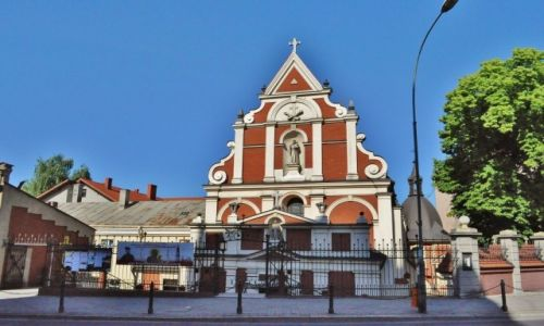 Zdjęcie POLSKA / Podkarpacie / Przemyśl / Przemyśl, kościół reformatów