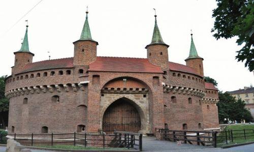 Zdjęcie POLSKA / Małopolska  / Kraków / Kraków, barbakan