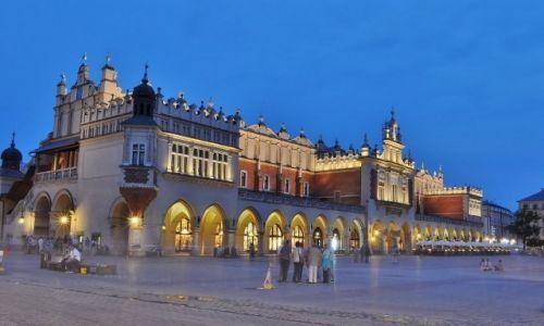 Zdjęcie POLSKA / Małopolska / Kraków / Kraków, sukiennice