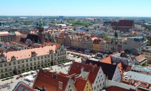 Zdjecie POLSKA / Dolny Śląsk / Wrocław / W sercu miasta