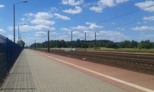 Zdjęcie POLSKA / południe / stacja pkp / Włoszczowa