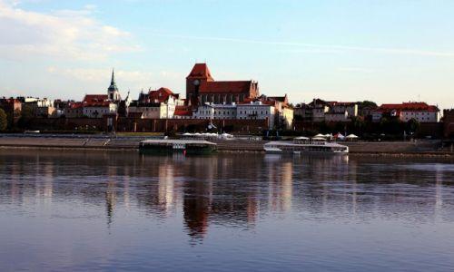 Zdjecie POLSKA / Toruń / Zza Wisły / Stare Miasto