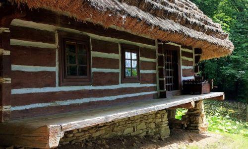 Zdjęcie POLSKA / Podkarpackie / Muzeum Budownictwa Ludowego w Sanoku / Pod strzechą