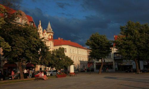 Zdjęcie POLSKA / Chełmno / Rynek / Przed burzą