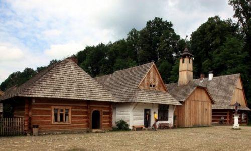 Zdjęcie POLSKA / Podkarpackie / Muzeum Budownictwa Ludowego w Sanoku / Rynek Glicyjski