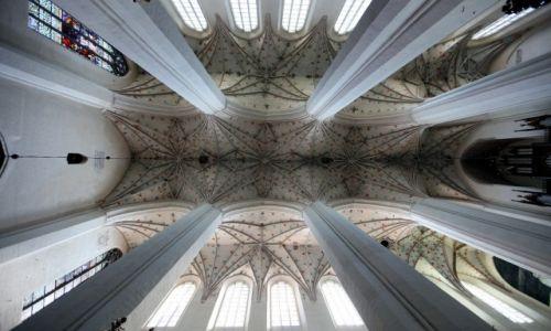 Zdjęcie POLSKA / Toruń / Stare Miasto / Kościół św. Janów, sklepienie