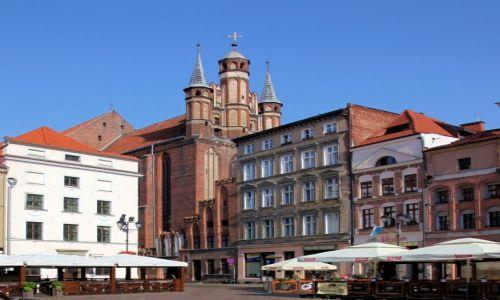 Zdjęcie POLSKA / Toruń / Rynek Staromiejski / Kościół Wniebowzięcia Najświętszej Marii Panny