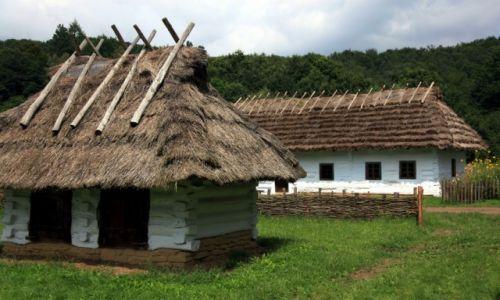 Zdjęcie POLSKA / Podkarpackie / Muzeum Budownictwa Ludowego w Sanoku / Chaty i chatki
