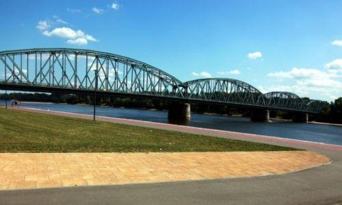 Zdjęcie POLSKA / Roruń / Bulwar Filadelfijski / Most drogowy im. Józefa Piłsudskiego