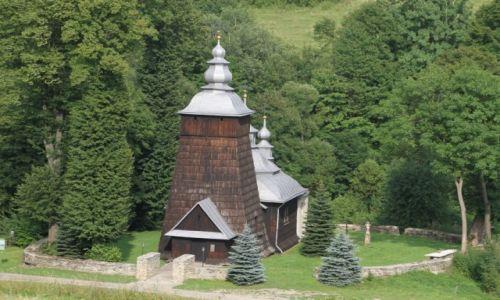 Zdjecie POLSKA / Beskid Niski  / CHYROWA   / IV Szlak Architektury Drewnianej