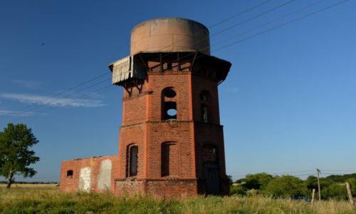 Zdjęcie POLSKA / kujawsko pomorskie / Golejewo / Kolejowa wieża wodna