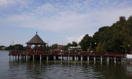 Zdjęcie POLSKA / Warmińsko-Mazurski / Ostróda / Molo na jeziorze Drwęckim