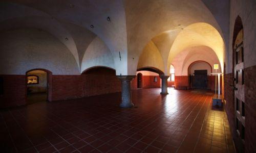 Zdjęcie POLSKA / Malbork / Gotycki zamek krzyżacki / Zamkowe podziemia