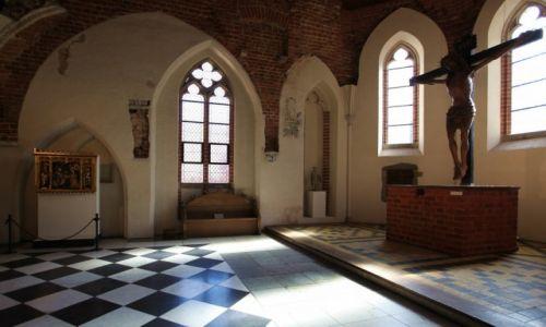 Zdjęcie POLSKA / Malbork / Gotycki zamek krzyżacki / Kaplica
