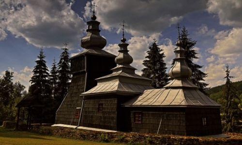 Zdjęcie POLSKA / Beskidu Niskiego / Czarna / Czarna - dawna cerkiew greckokatolicka pod wezwaniem św. Dymitra