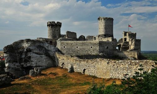 Zdjęcie POLSKA / Woj. śląskie / wieś Podzamcze / Ogrodzieniec