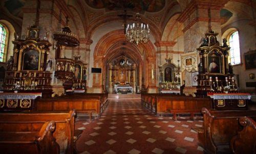 Zdjęcie POLSKA / Małopolska / Wadowice / Wnętrze Bazyliki