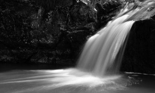 Zdjęcie POLSKA / woj. małopolskie / Jaworki / White Water Waterfall