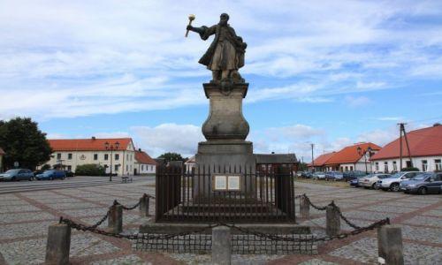 Zdjęcie POLSKA / Podlasie / Tykocin / Pomnik Stefana Czarnieckiego