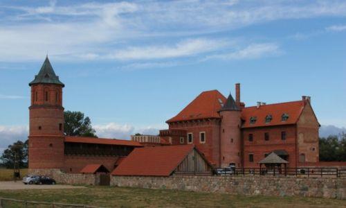 Zdjęcie POLSKA / Podlasie / Tykocin / Zamek Królewski, rekonstrukcja