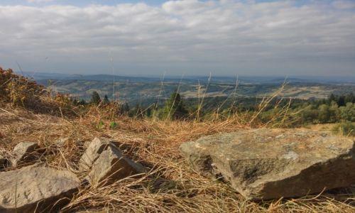 Zdjęcie POLSKA / beskid makowski / okolice góry koskowej / w obiektywie Kalwaria i Lanckorona