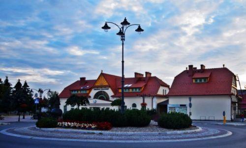 Zdjęcie POLSKA / Małopolska / Rabka Zdrój /  Dworzec Kolejowy