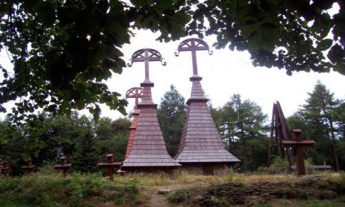 Zdjecie POLSKA / Beskid Niski / Rotunda / Cmentarz nr 51 z pierwszej wojny światowej