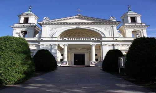Zdjęcie POLSKA / Warszawa / Wilanów / Kolegiata św. Anny